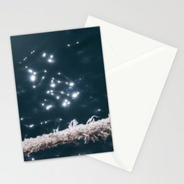 Liquid sapphire (and the old rope) Stationery Cards