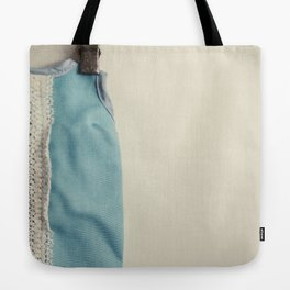 Doll Closet Series - Blue Dress Tote Bag