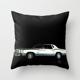 1976 Chevrolet Monte Carlo Throw Pillow