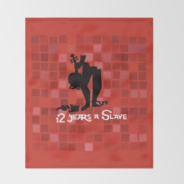 12 Years a Slave Throw Blanket