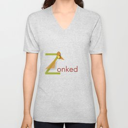 Zonked Unisex V-Neck