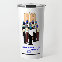 A Mazel Tov, Bar Mitzvah Travel Mug