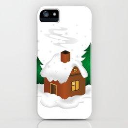 Winter scenery iPhone Case