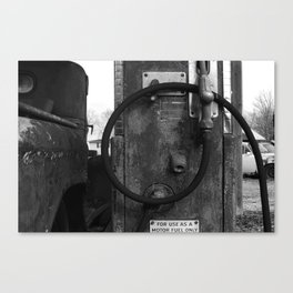 motor fuel only Canvas Print