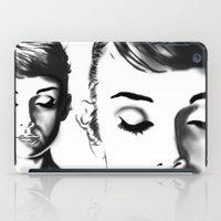 hepburn iPad Cases featuring Audrey Hepburn by Geryes