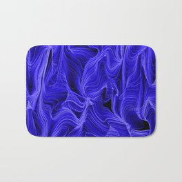 Midnight Blue Mist Bath Mat
