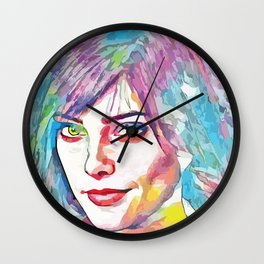 Ashley Greene (Creative Illustration Art) Wall Clock