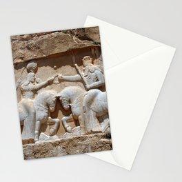Persian Knights, King Ardashir Monument, Nagsh and Rostam, Iran Stationery Cards
