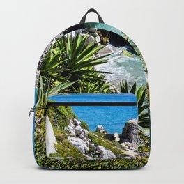 Coastline of Gibraltar Backpack