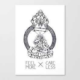FeelMore x CareLess Canvas Print