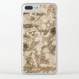 Angels Clear iPhone Case