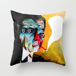 smoker2 Throw Pillow