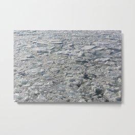 ice puzzle Metal Print