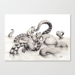 It's Complicated Canvas Print