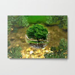 Environmental Protection Metal Print