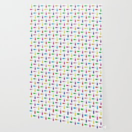 Test tube pattern Wallpaper