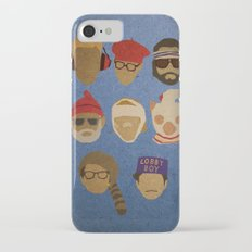Wes Anderson Hats Slim Case iPhone 7