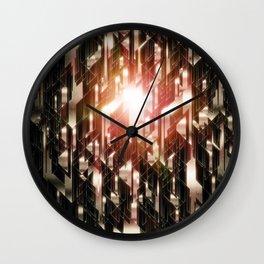 Grid 2 Wall Clock