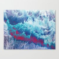 iceland Canvas Prints featuring Iceland by Fernando Vieira