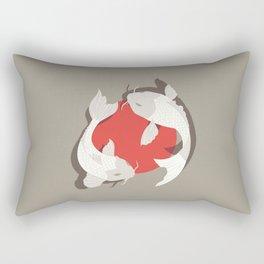 koi fish Rectangular Pillow