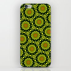 Cute ethnic floral pattern iPhone & iPod Skin