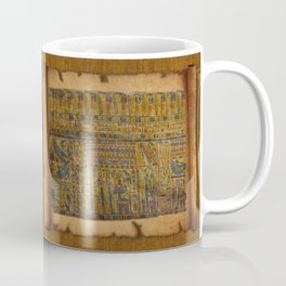 Ancient Egyptian Funerary Scroll pre 944 BC Coffee Mug