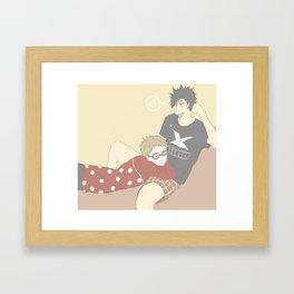 Haikyuu!! - Kurotsuki 5 Framed Art Print