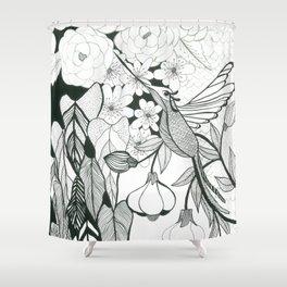 Hummingbird 2 Shower Curtain
