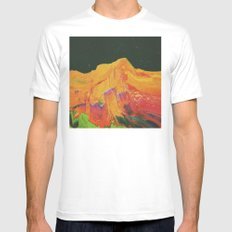 surrf MEDIUM Mens Fitted Tee White