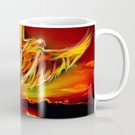 Phoenix Bird Fire Coffee Mug
