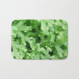 Little Green Leaves Bath Mat