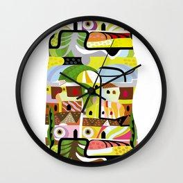 Relic of Babylon Wall Clock