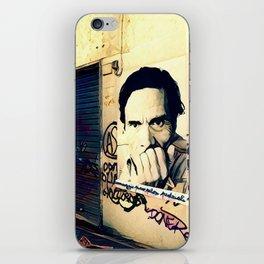 Street Art Pasolini in Rome iPhone Skin