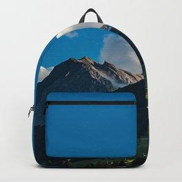 Summer picture of Switzerland Adelboden mountain village Backpack