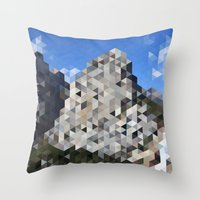 yosemite Throw Pillows featuring Yosemite by Catherine Gibbard