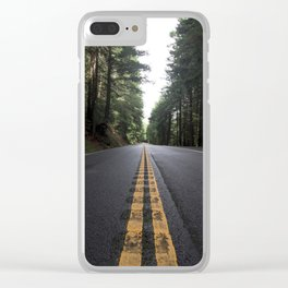 Road to Mendocino Clear iPhone Case
