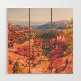 Bryce Canyon Fine Art Print Wood Wall Art
