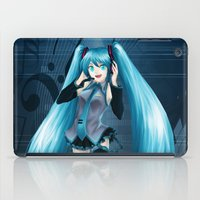 vocaloid iPad Cases featuring Vocaloid Hatsune Miku by RAVEFIRELL
