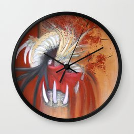 Kinryu-No-Mai Wall Clock