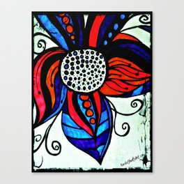 Colorful Flower Canvas Print