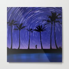 Looking For My Lucky Star.  Metal Print