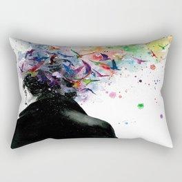 Free your mind Rectangular Pillow