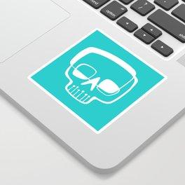 Mid-Mod Skull Sticker