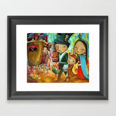 Trip Of The Queen Framed Art Print