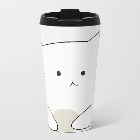 cat-361 Metal Travel Mug