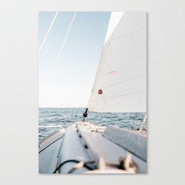 Sailboot by Andrew Neel Canvas Print
