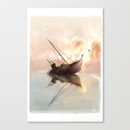 The Tipping Point Canvas Print