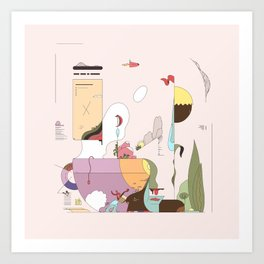 Late Afternoon Tea Art Print