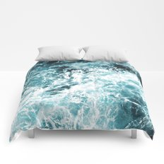 Sea Waves Comforters