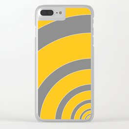 High Vis. 04 Clear iPhone Case